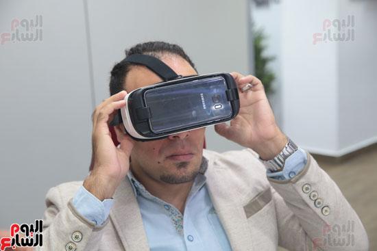 اليوم السابع، صحفيو اليوم السابع، نظارة واقع افتراضي، واقع افتراضي، Gear VR 2، سامسونج Gear VR 2 (33)