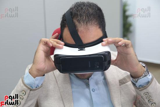 اليوم السابع، صحفيو اليوم السابع، نظارة واقع افتراضي، واقع افتراضي، Gear VR 2، سامسونج Gear VR 2 (34)