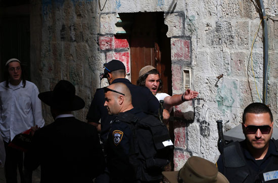 قوات الاحتلال فى القدس (1)