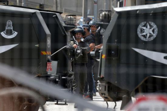 قوات الاحتلال فى القدس (8)