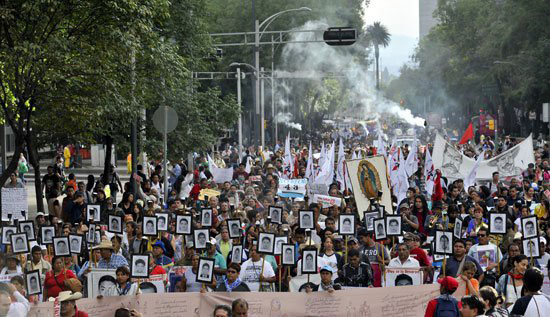 احتشد المكسيك  (7)