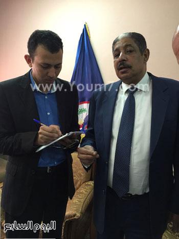 اللواء حسن السوهاجى مساعد وزير الداخلية رئيس قطاع السجون (1)