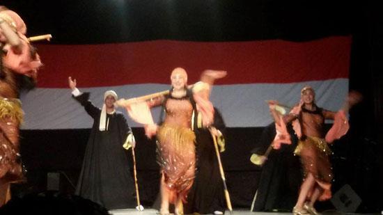 اليمن مهد الحضارة على مسرح الهناجر سهرة يمنية بدار الأوبرا (1)