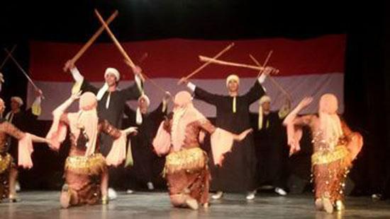 اليمن مهد الحضارة على مسرح الهناجر سهرة يمنية بدار الأوبرا (4)
