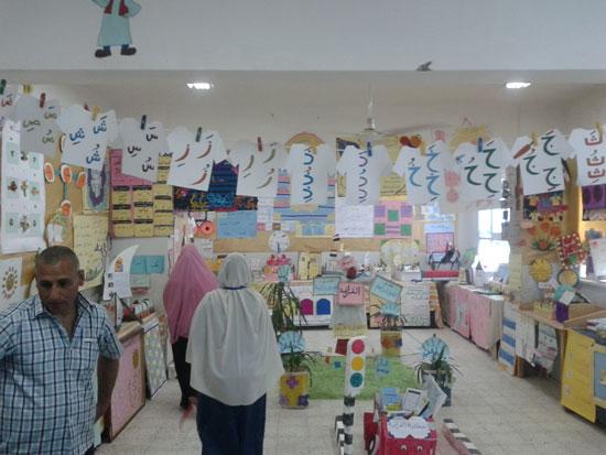 المعرض السنوى لوحدة القرائية بإدارة أبنوب التعليمية (3)