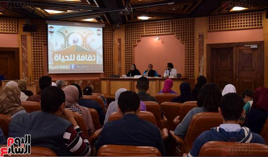 فعاليات ورشة نقرأ لنحيا بمكتبة الإسكندرية (5)