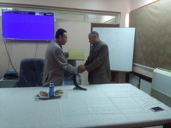 حفل توزيع شهادات اجتياز الدورة التدريبية بصحة بنى سويف (7)