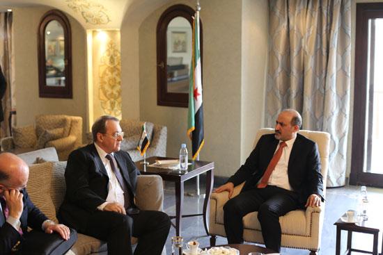 أحمد الجربا رئيس تيار الغد السورى (2)
