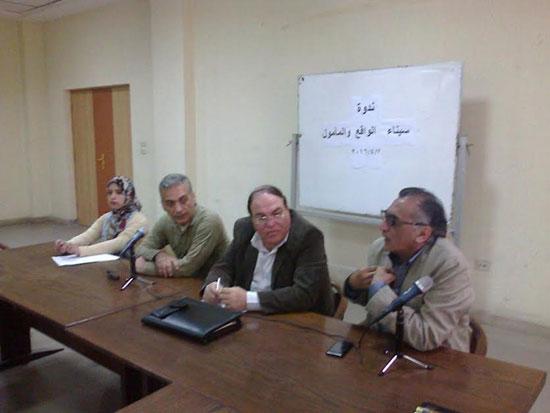 إعلام العريش ينظم ندوة سيناء الواقع والمأمول (2)