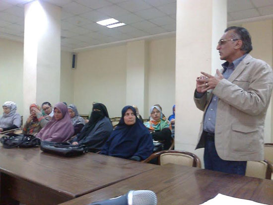 إعلام العريش ينظم ندوة سيناء الواقع والمأمول (3)