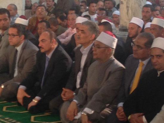 وصول وزير الآثار لمسجد الظاهر بيبرس (1)