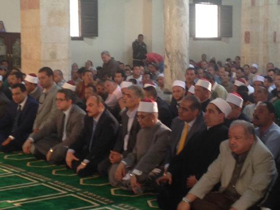 وصول وزير الآثار لمسجد الظاهر بيبرس (2)