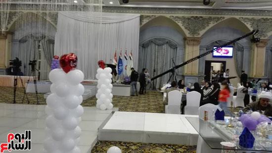 القوات المسلحة تنظم احتفالية فنية لأسر الشهداء وأبنائهم فى إطار احتفالات يوم اليتيم (2)