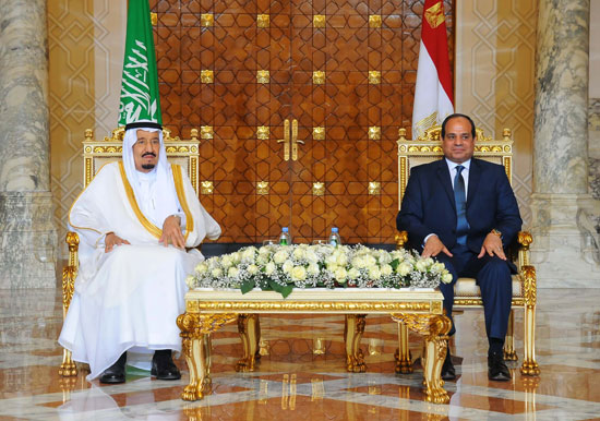1اخبار مصر اليوم اخبار مصر الملك سلمان  الرئيس السيسي زيارة الملك سلمان لمصر (5)