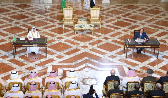 1اخبار مصر اليوم اخبار مصر الملك سلمان  الرئيس السيسي زيارة الملك سلمان لمصر (7)
