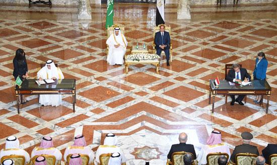 1اخبار مصر اليوم اخبار مصر الملك سلمان  الرئيس السيسي زيارة الملك سلمان لمصر (10)