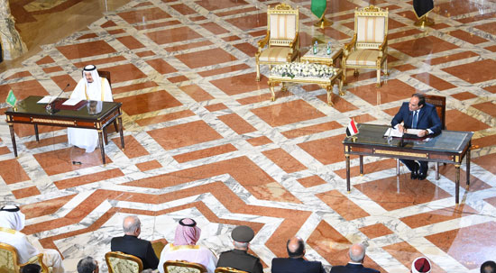 1اخبار مصر اليوم اخبار مصر الملك سلمان  الرئيس السيسي زيارة الملك سلمان لمصر (9)
