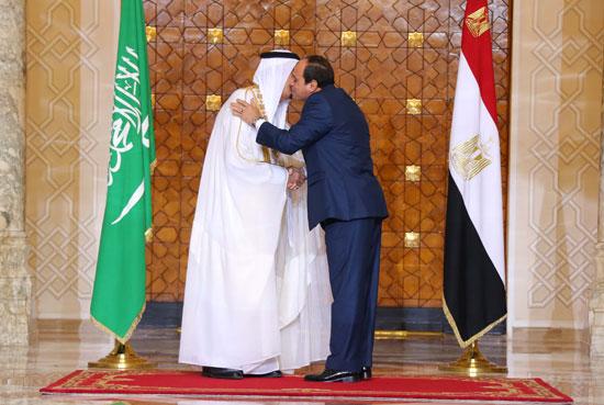 1اخبار مصر اليوم اخبار مصر الملك سلمان  الرئيس السيسي زيارة الملك سلمان لمصر (12)