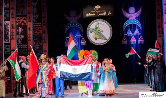 مهرجان دمنهور الدولى الرابع للفلكلور (4)