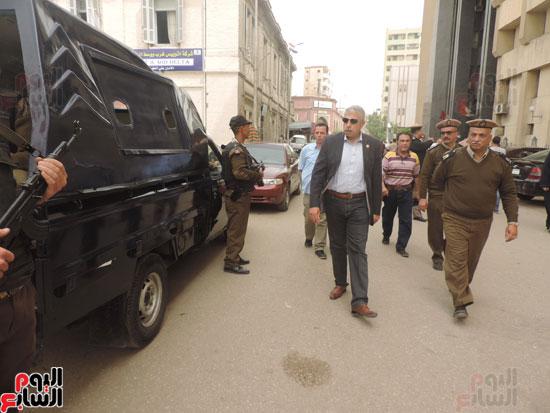 مدير أمن الغربية -تأمين محكمة طنطا -محكمة طنطا (1)