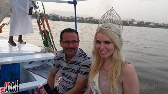 ملكة جمال السياحة الاوروبية تحتفل بعيد ميلادها (1)
