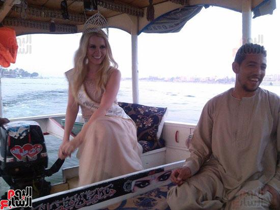ملكة جمال السياحة الاوروبية تحتفل بعيد ميلادها (2)