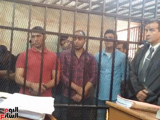 محاكمة المتهمين بقتل طلعت شبيب بقسم شرطة الأقصر (1)