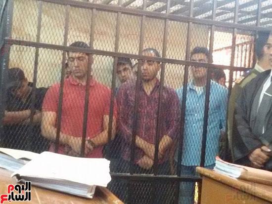 محاكمة المتهمين بقتل طلعت شبيب بقسم شرطة الأقصر (3)