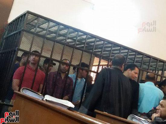 محاكمة المتهمين بقتل طلعت شبيب بقسم شرطة الأقصر (4)