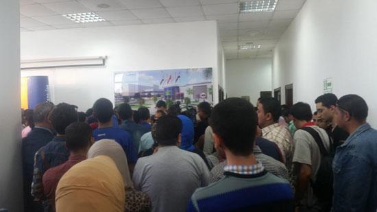وفد من طلاب الجامعة المصرية (1)