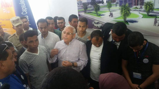 وفد من طلاب الجامعة المصرية (3)