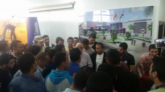 وفد من طلاب الجامعة المصرية (4)