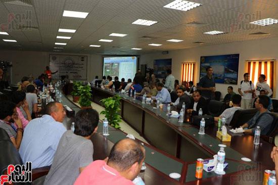 استعراض تفاصيل مشروع حفر ثلاث انفاق أسفل قناة السويس (2)