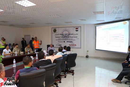 استعراض تفاصيل مشروع حفر ثلاث انفاق أسفل قناة السويس (6)