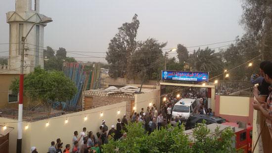 تشيع جثمان شهيدى القوات المسلحة ببنى سويف (2)