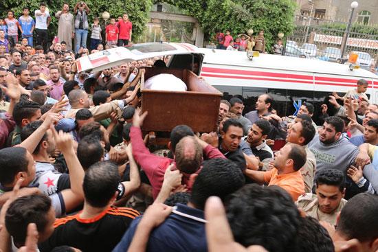 تشييع جنازة شهيد تفجيرات سيناء فى المنوفية (1)