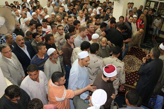 تشييع جنازة شهيد تفجيرات سيناء فى المنوفية (2)
