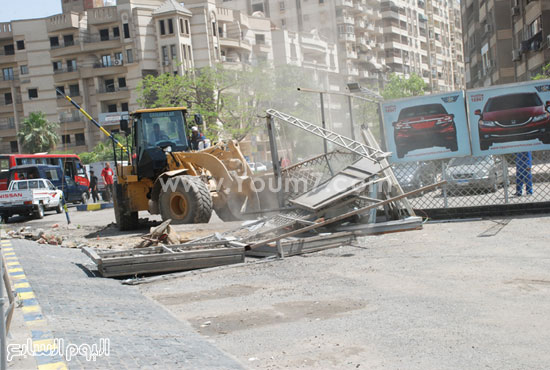 جانب من حملة محافظة القاهرة -اليوم السابع -5 -2015