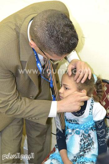 الكشف الطبى على الأطفال -اليوم السابع -5 -2015