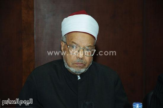 الدكتور محمد عبد الفضيل القوصى وزير الأوقاف الأسبق -اليوم السابع -5 -2015