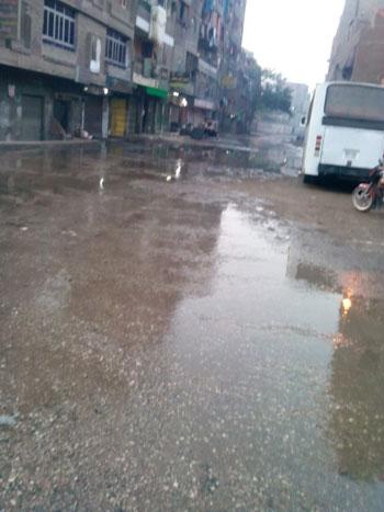 طريق بيجام يغرق بالمياه -اليوم السابع -5 -2015