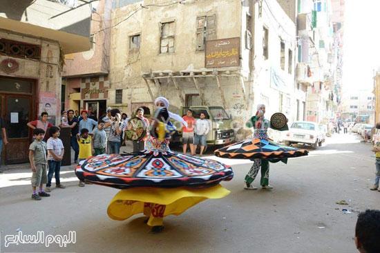 التنورة فى مهرجان الفرحة بالإسكندرية -اليوم السابع -5 -2015