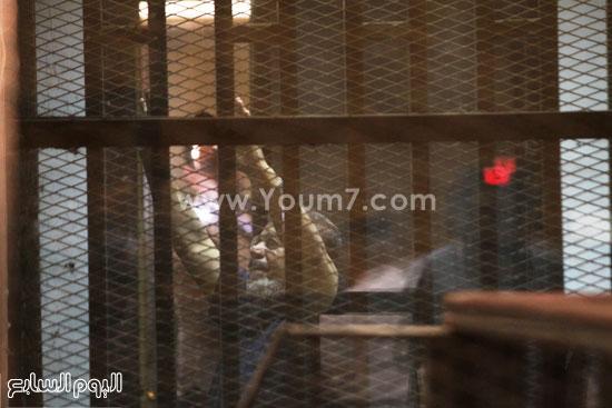 مرسى داخل قفص الاتهام  -اليوم السابع -5 -2015