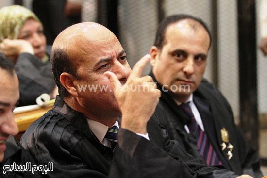 عبد المنعم عبد المقصود محامى المتهمين   -اليوم السابع -5 -2015