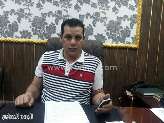 الرائد عبد التواب جابر رئيس مباحث إطسا -اليوم السابع -5 -2015