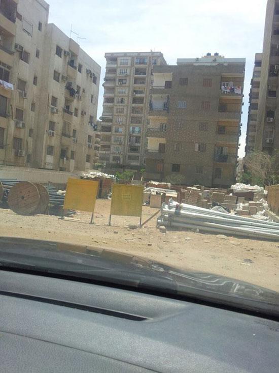 الأرض المقرر عليها البناء ولم يتم منذ عامين -اليوم السابع -5 -2015