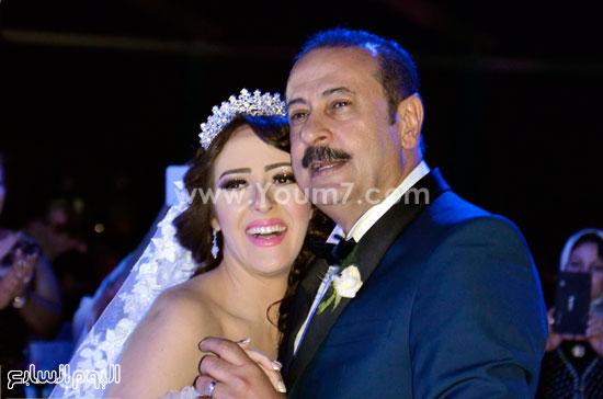 العروسان عمرو مكين وسناء يوسف -اليوم السابع -5 -2015
