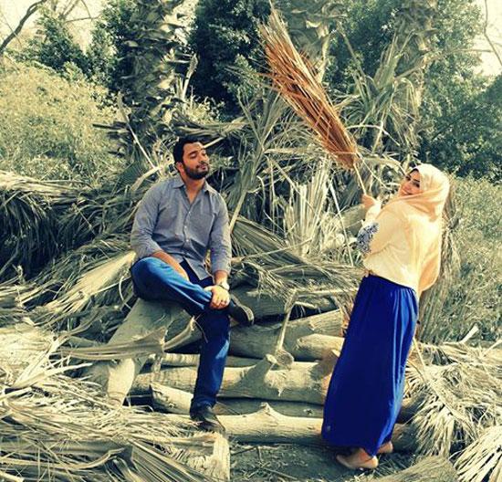 أحمد وزوجته -اليوم السابع -5 -2015