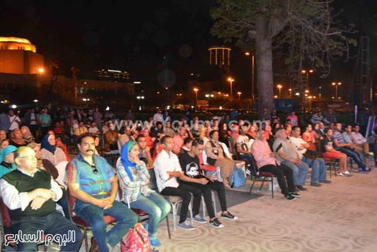.جانب من الحضور فى الحفل  -اليوم السابع -5 -2015