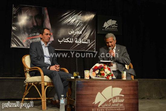 المهندس محمد الصاوى يقدم يسرى فودة للجمهور -اليوم السابع -5 -2015